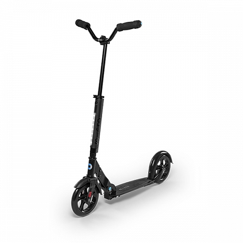 Самокат Micro scooter Urban black Led (Микро скутер Урбан, черный светящися рулем)