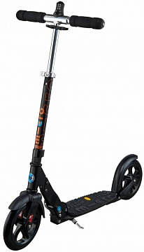 Самокат Micro scooter Black Deluxe (Микро скутер Блэк Делюкс)